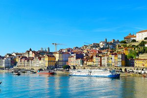 Panorama of Porto Old Town
