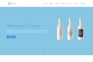 Osiris - Multipurpose HTML Template