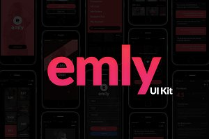 Emly Creative Shopping App UI Kit
