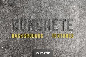 30 Concrete Textures / Backgrounds