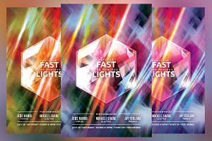 Fast and the Furious Lights Flyer