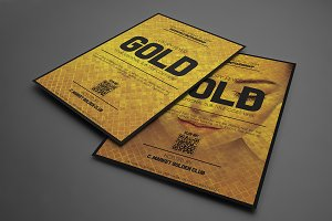 Golden Style Flyer Template
