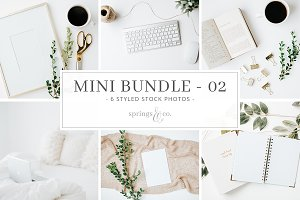 Cozy Greenery Mini Photo Bundle - 02