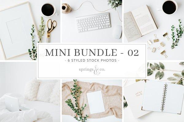 Cozy Greenery Mini Photo Bundle - 0…