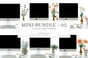 iMac Mockup Mini Photo Bundle - 03