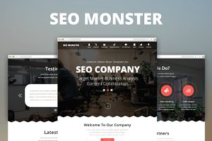 SEO Monster - Creative Muse Template