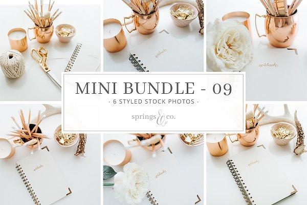 Gold Desktop Mini Photo Bundle - 09
