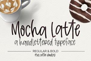 Mocha Latte- Font + Doodles
