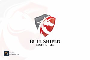 Bull Shield - Logo Template