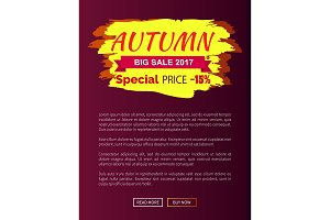 Special Price Autumn Sale - 15 Advert Promo Poster