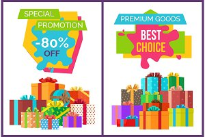 Special Promotion Best Choice Vector Illustration