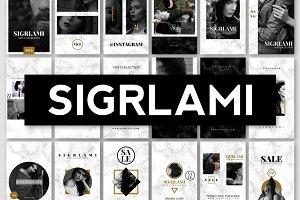 SIGRLAMI - Instagram Posts & Stories