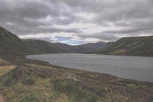Loch muick in Scotland