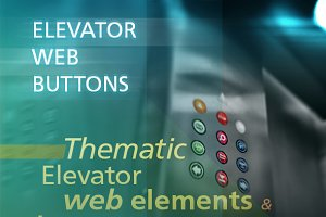 Elevator / lift Web Buttons