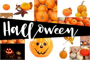 15 Halloween Backgrounds Pack