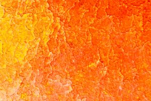 Abstract orange acrylic background.