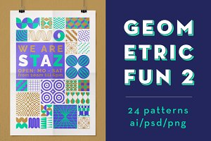 Geometric Fun 2 ~ 24 patterns