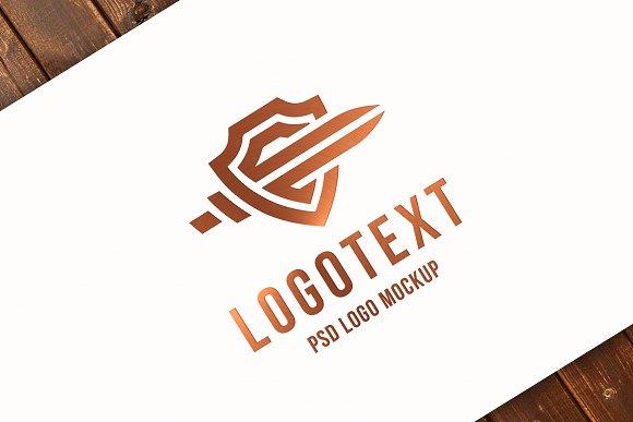 Copper Logo MockUp
