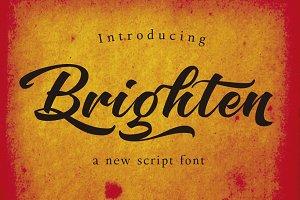 Brighten Round Italic
