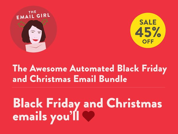 Black friday christmas emails email templates creative market black friday christmas emails email pronofoot35fo Choice Image