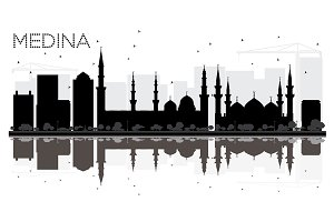 Medina Saudi Arabia City skyline