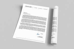 Corporate Letterhead 4 with MS Word