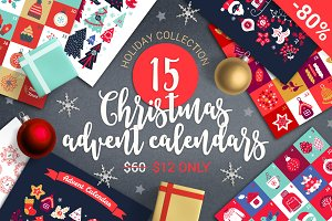 80% OFF - 15 Advent Calendars