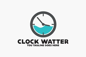 Clock Water Logo