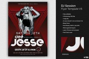 DJ Session Flyer Template V5