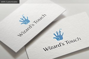 Wizard Touch Logo Template