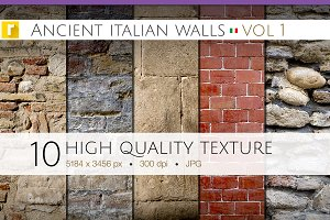 Ancient Italian Walls - Vol 1