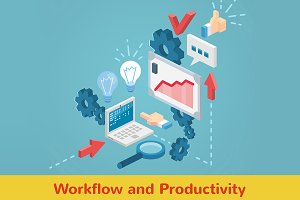 Workflow and productivity set