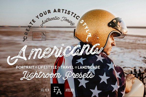 Americana Lightroom Presets