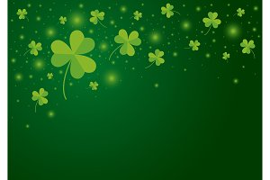 St Patricks day background design