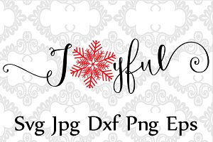 Joyful Svg file