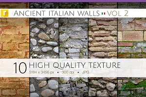 Ancient Italian Walls - Vol 2