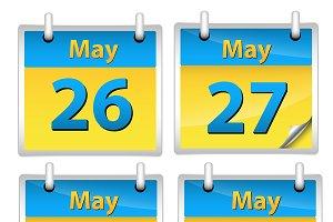 Calendars Vectors
