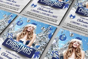 Christmas Flyer V1 + Facebook Cover