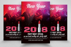 New Year Eve Flyers