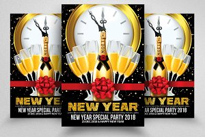Happy New Years Flyer / Poster