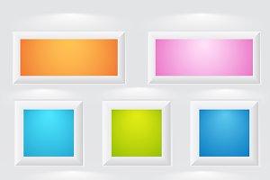 3d Frames & Boxes
