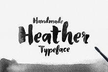 brush font