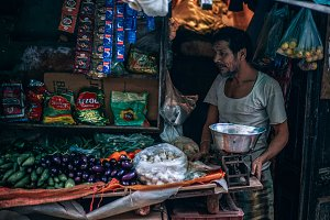 Street Vegetable Seller