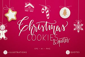 Christmas Cookies and Quotes