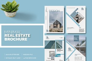 Minimal Real Estate Brochure