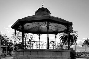 Bandstand in the gardens