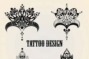 Tattoo Design Elements