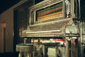 Mirrored Piano