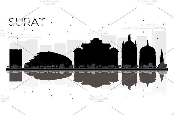 Surat City skyline