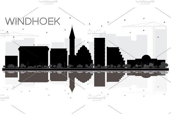 Windhoek City skyline